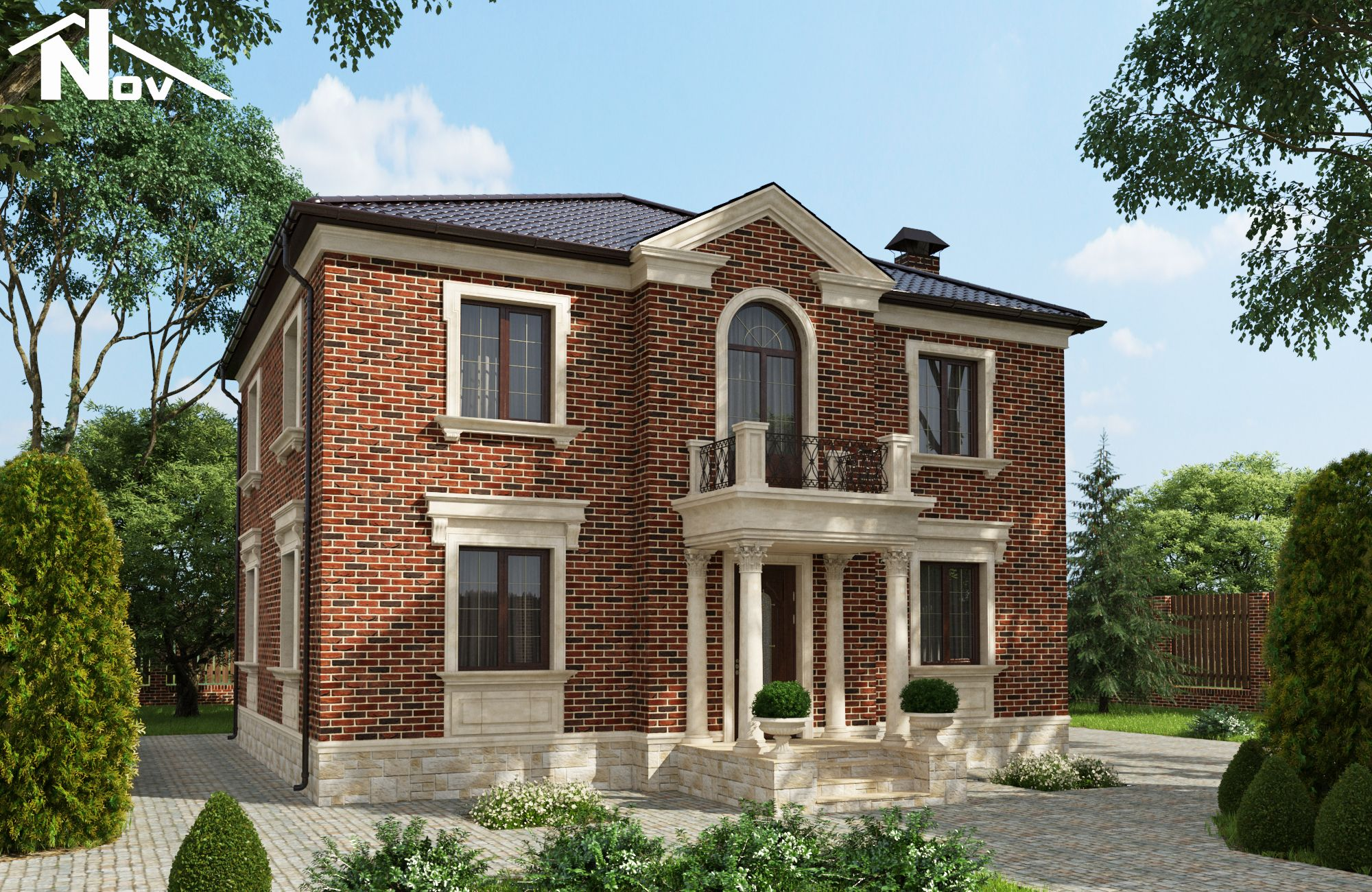 56 for American brick and stone